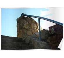 HANDRAIL OVER LOOKOUT Poster