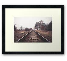 The Endless Railway Framed Print