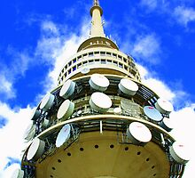 Telstra Tower Canberra by Mortalimage
