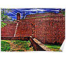Kalemegdan Fortress Belgrade Poster