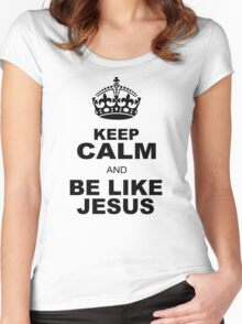 BE LIKE JESUS Women's Fitted Scoop T-Shirt