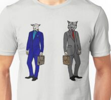 Who are u?Sheep or wolf Unisex T-Shirt