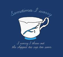 Belle's Chipped Cup (v2) by rainilyahead
