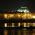 Winter Night in Prague by Jason Bran-Cinaed