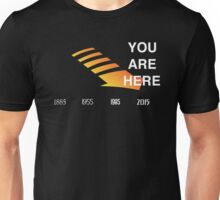 Back to The Future Timeline  Unisex T-Shirt