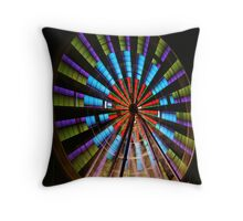 Ferris Wheel lights. Throw Pillow