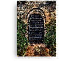 Torture Chamber Kalemegdan Fortress Belgrade Canvas Print