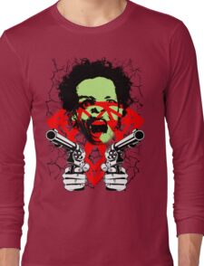 FUCKIN LIVIN CRAZY MAN Long Sleeve T-Shirt
