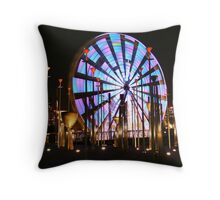 Ferris Wheel lights Two. Throw Pillow