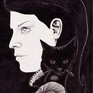 Poe's Cat by Esther Green