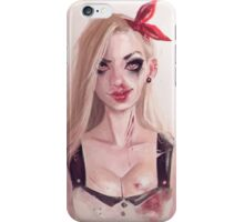 pin up catfight iPhone Case/Skin