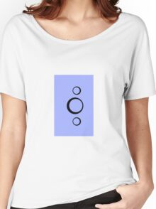 Abstract Circles Women's Relaxed Fit T-Shirt