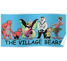 The village bears Poster