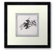 Honeyed Framed Print