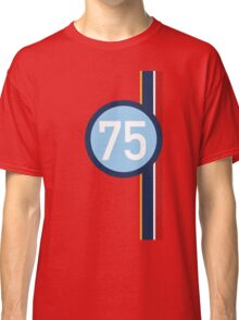 '75' Racing number with RAF roundel colour stripes Classic T-Shirt