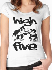 HIGH FIVE Women's Fitted Scoop T-Shirt