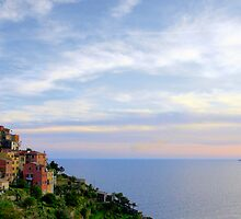 Day's End, Corniglia by Harry Oldmeadow