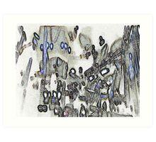 cardiff in peril Art Print