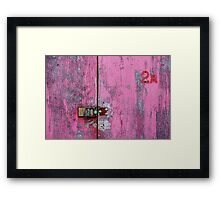 Pink 2A Framed Print