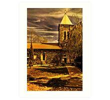 Medieval Church Kalemegdan Belgrade Art Print