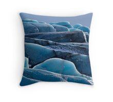 Glacier 3 Throw Pillow