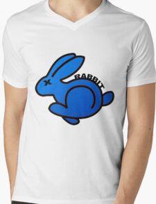 VOLKSWAGEN RABBIT Mens V-Neck T-Shirt