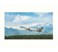 Condor Boeing 757 Art Print