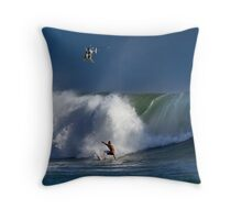 Epic Swell  Throw Pillow