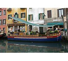 Ponte Puglia Market Photographic Print