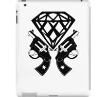 FUCKIN LIVING DIAMOND AND GUNS iPad Case/Skin
