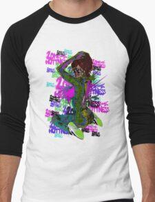 ZoMbIe HoTTnEss Men's Baseball ¾ T-Shirt