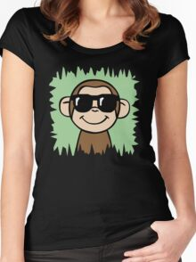 Cool Monkey Women's Fitted Scoop T-Shirt