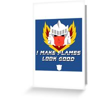 "Transformers - ""Tracks"" Greeting Card"