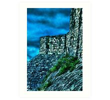 Ancient Ruins Fortress Kalemegdan Art Print