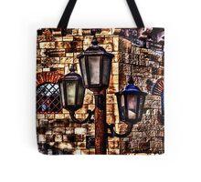 Vintage Lights Kalemegdan Fortress Belgrade Tote Bag