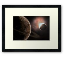 Beyond Our Space Framed Print