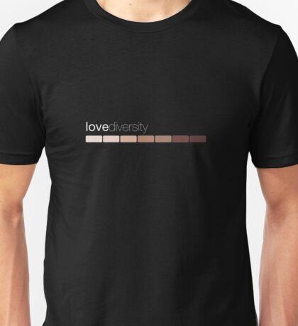 love diversity Unisex T-Shirt