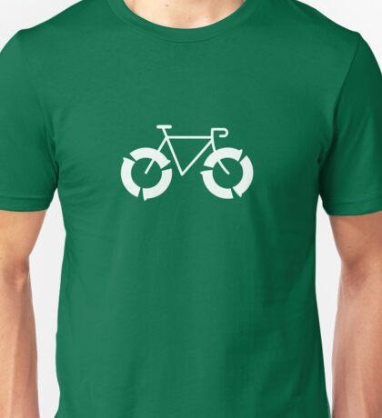 recycle: white Unisex T-Shirt