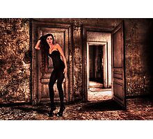 Abandoned Fashion Room Fine Art Print Photographic Print