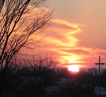December 26th, 2007 sunset in Louisburg kansas..... by Kevin McGeeney