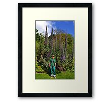 Among Giants............Echium-pininana-tower-of-jewels Framed Print