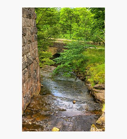 Stream Crossing -  Dentdale Photographic Print