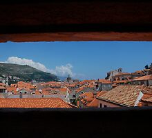 A window to Dubrovnik by Jgirl