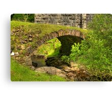 Stream Crossing #2  - Dentdale. Canvas Print