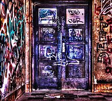 Urban Decay Door Fine Art Print by stockfineart