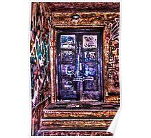Urban Decay Door Fine Art Print Poster