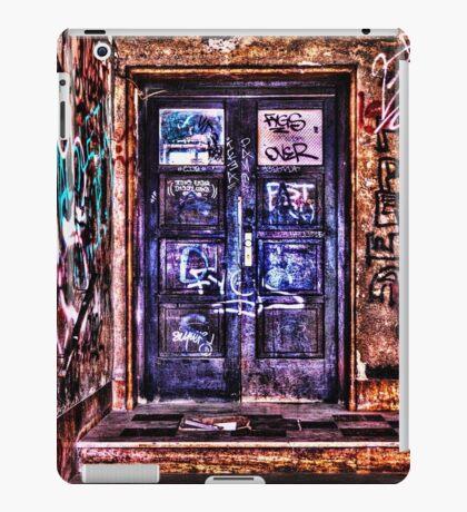 Urban Decay Door Fine Art Print iPad Case/Skin