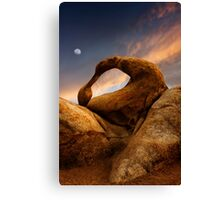Mobius Arch in the Alabama Hills 2. Canvas Print