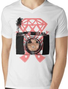 SEXY SHOT Mens V-Neck T-Shirt