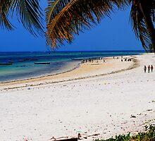 Mombasa Beach by Brendan Buckley